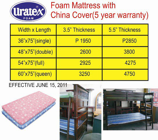 Uratex Foam Sofa Bed Price